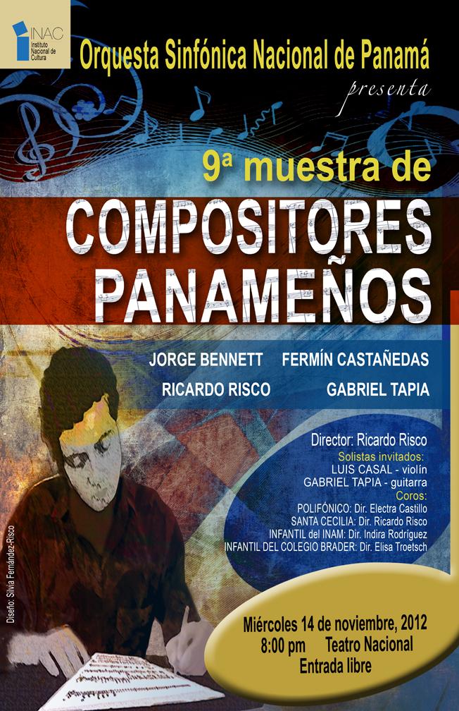 Ninth Panamanian Composer's Concert at National Theater