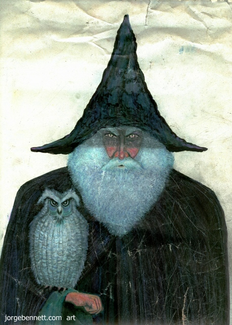 Jorge Bennett - Wizard and Owl - 1986
